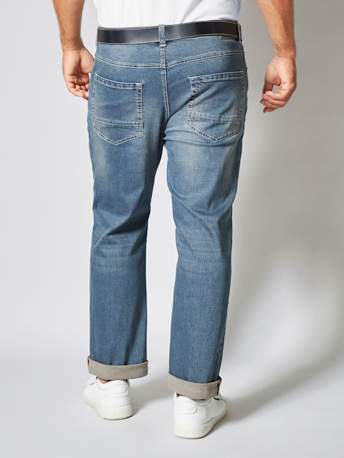 Jeans met comfortabele stretchband