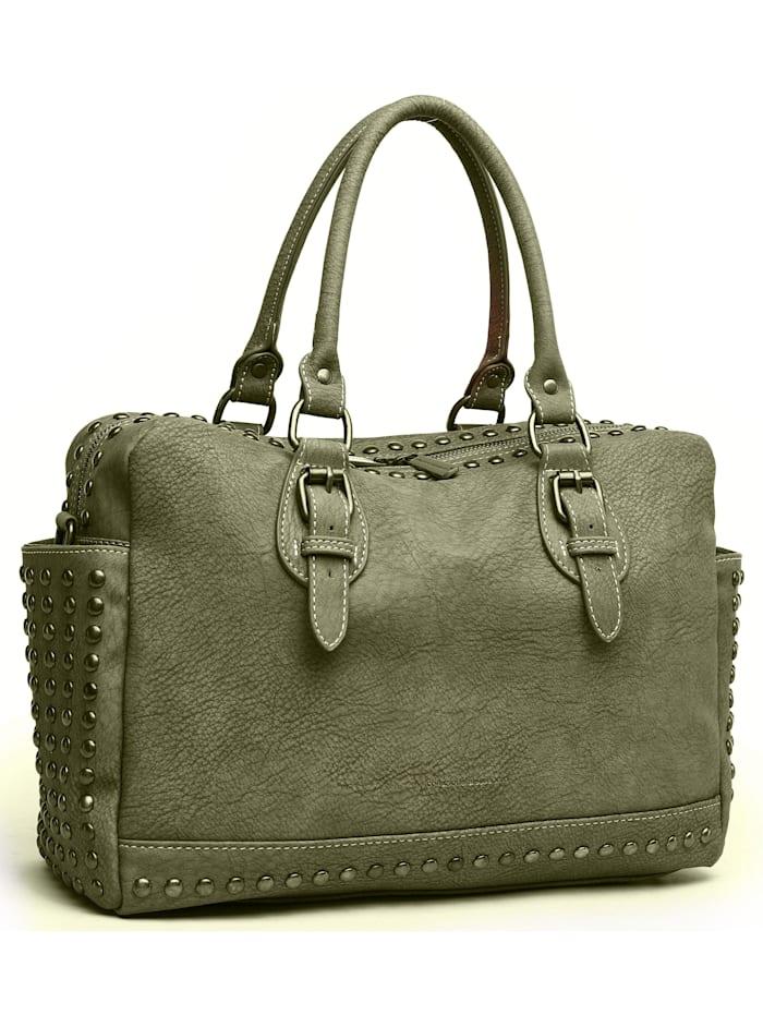 Handtasche Amalia mit 2 Seitenfächern