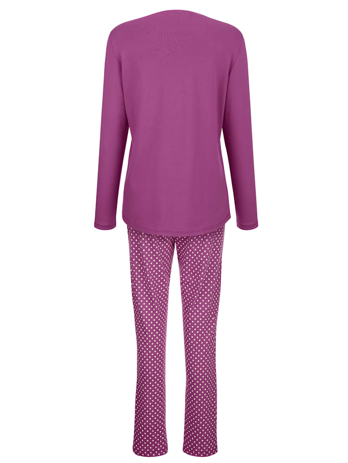 Pyžama s potlačou sedmokrások