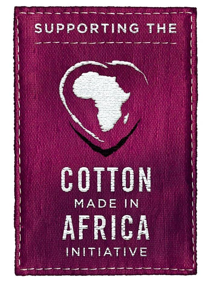 Tailleslip uit de 'Cotton made in Africa'-collectie