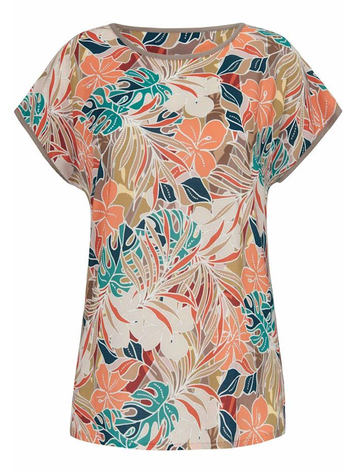 Anna Aura Kurzarmbluse Blusen-Shirt, multicolor