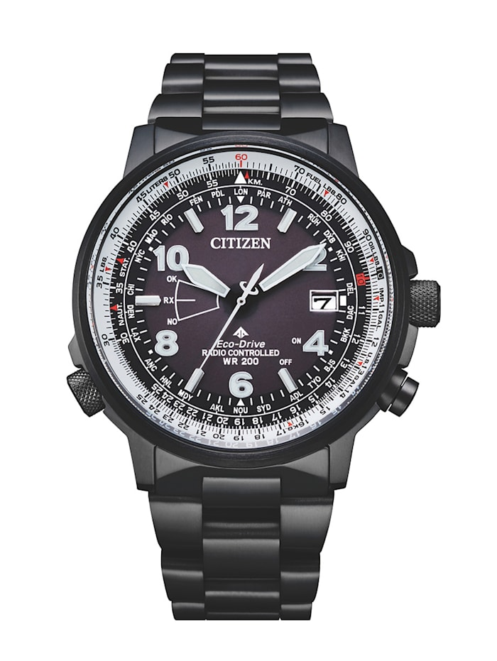 Citizen Herrenuhr CB0245-84E, Schwarz