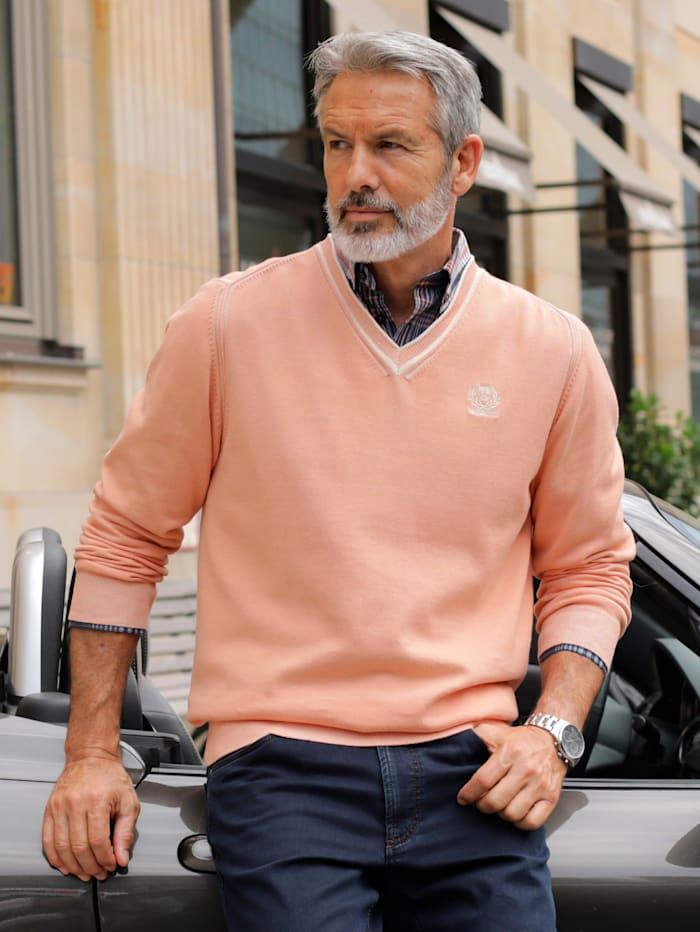 BABISTA Pullover mit zweifarbigen Effekten, Apricot