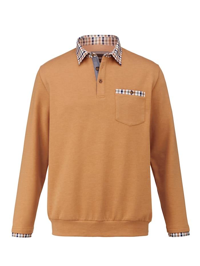BABISTA Sweatshirt mit weich angerauter Innenseite, Maisgelb