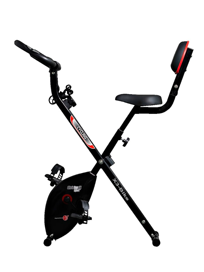 Klappheimtrainer X3 Bike 3 in 1