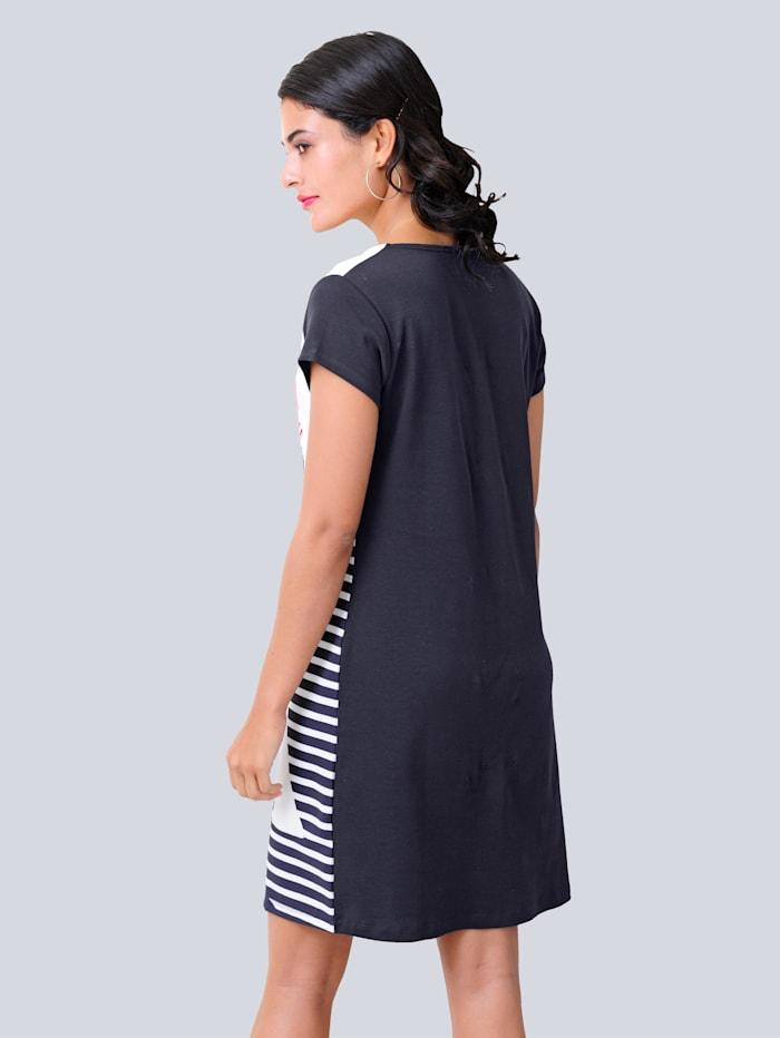 Šaty z pohodlné elastické žerzej kvality