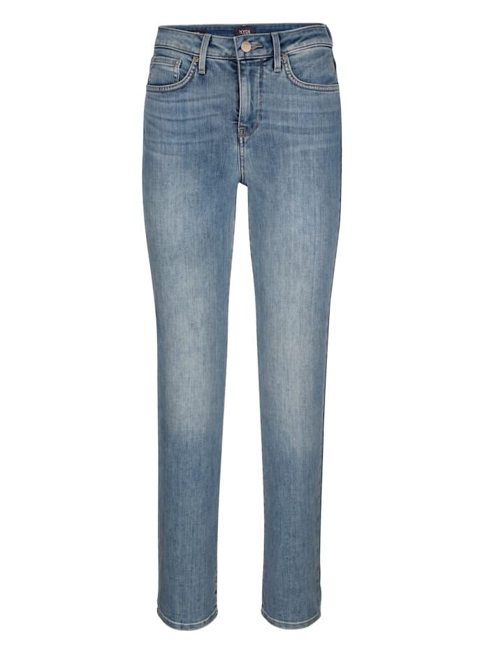 NYDJ Jeans met LIFT&TUCK technologie, Medium blue