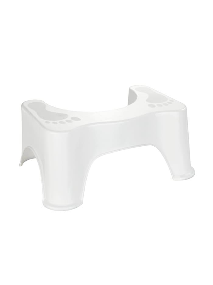 Wenko Toilettenhocker Secura, Weiß
