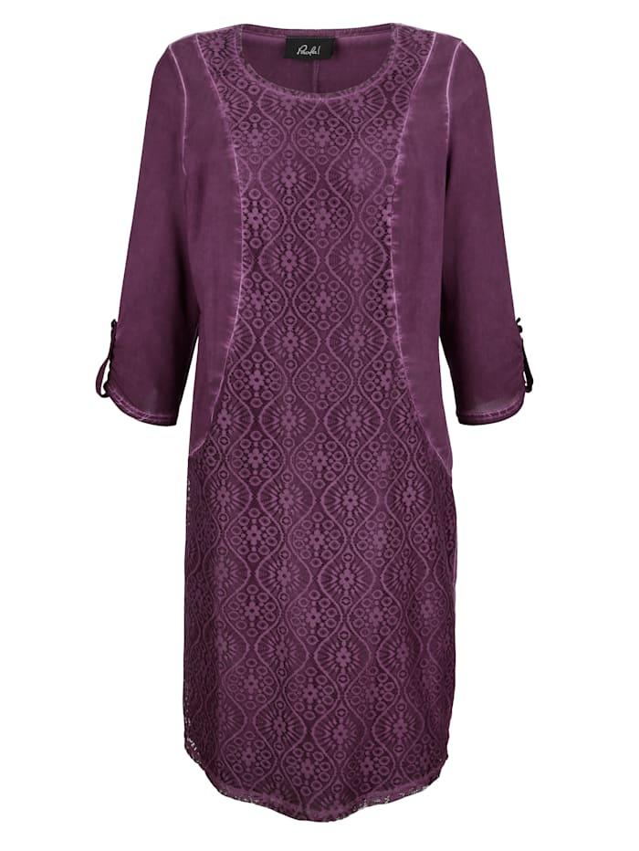 Šaty v módnom Oil-dyed spraní