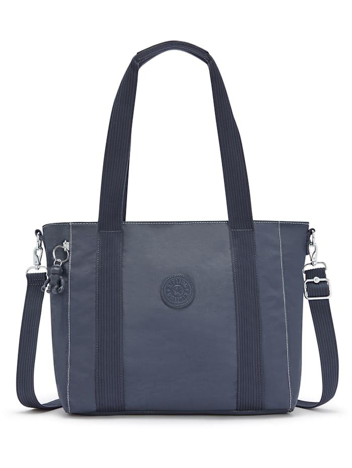 Kipling Basic Asseni S Shopper Tasche 40 cm, grey slate