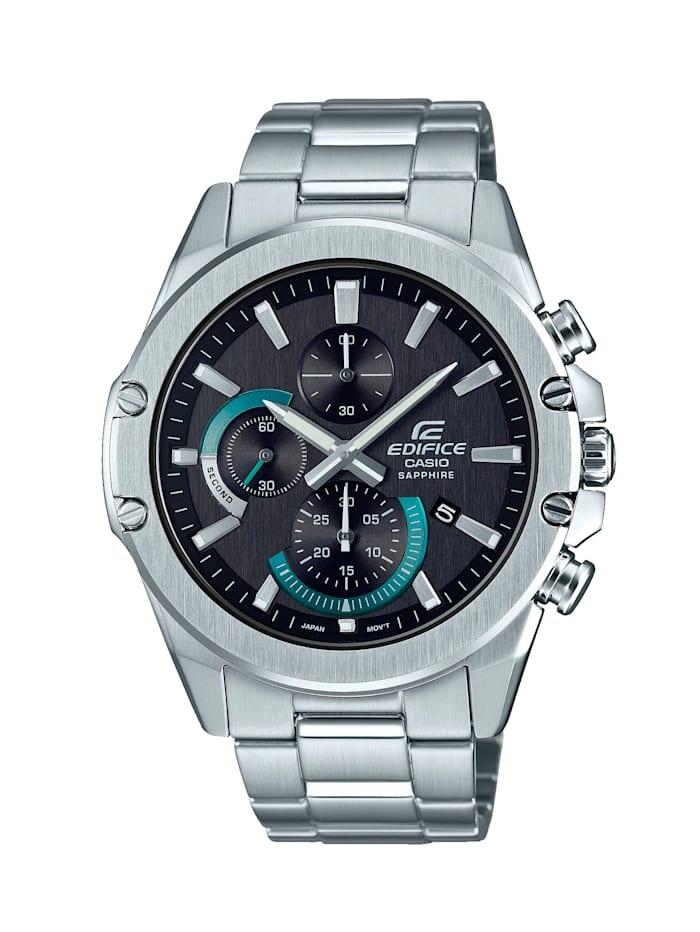 Casio Herren-Uhr Chronograph, Silberfarben