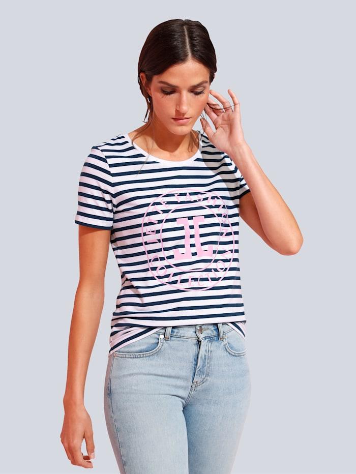 JETTE JOOP T-Shirt im Streifendessin, Blau