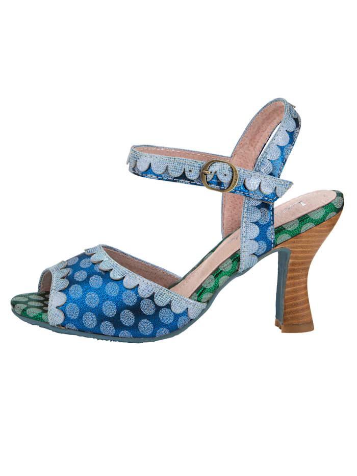 Sandale im Pünktchen-Look