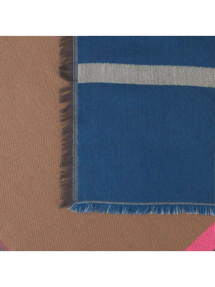 Art School Schal mit breiten Jacquard-Streifen