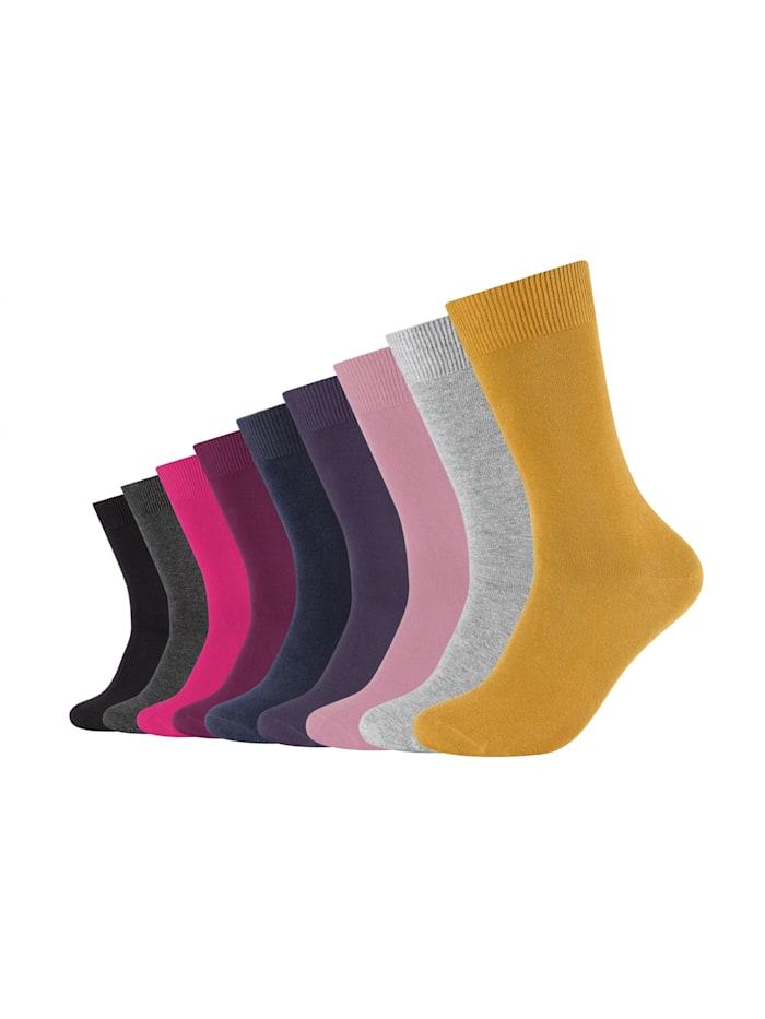 Camano Socken im praktischen 9er Pack, chalk pink mix