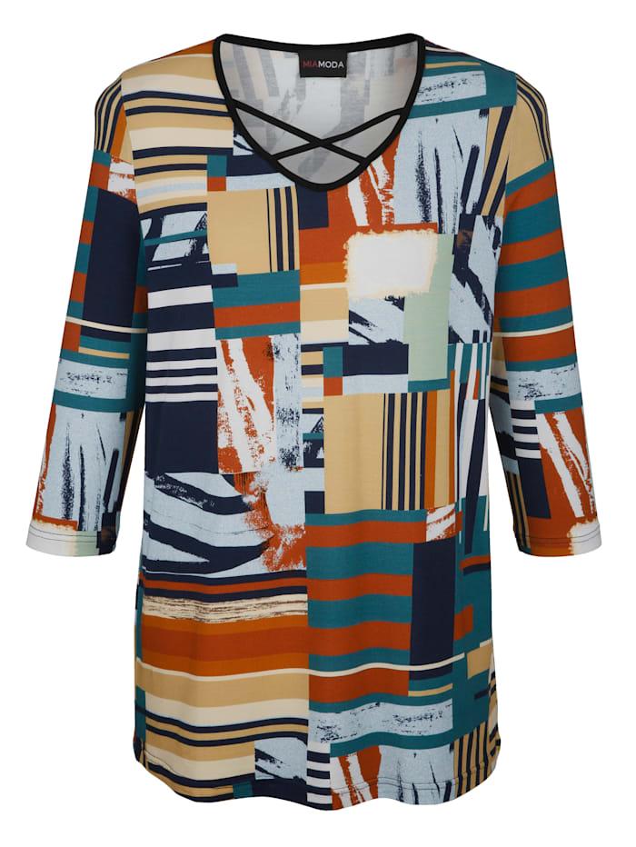 Tričko s farebnou celoplošnou potlačou