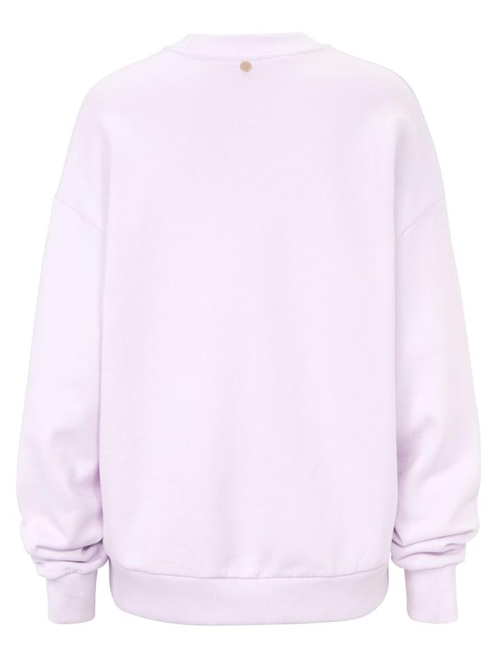Sweatshirt mit Smiley-Print