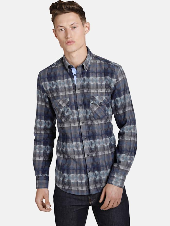 Shirtmaster Shirtmaster Hemd squaresandtees, gemustert