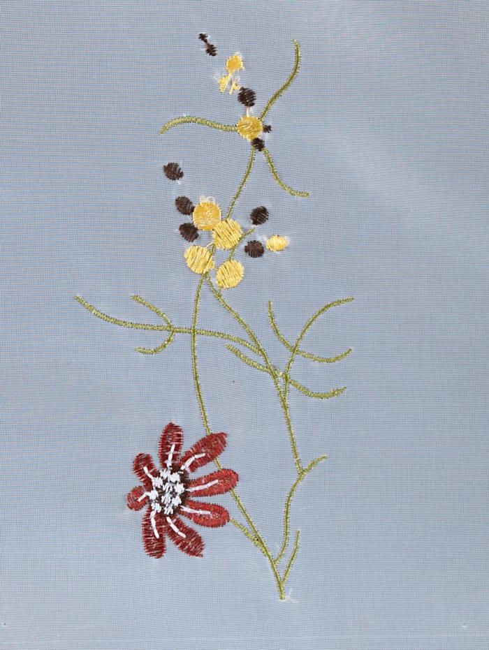 Scheibengardine 'Flower'