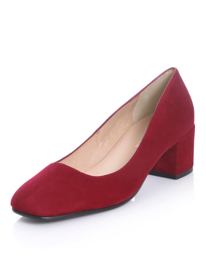 Alba Moda Pumps in aufregender Farbgebung, Rot