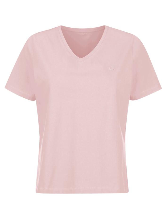 "MONA T-shirt en coton issu de l'initiative ""Cotton Made in Africa"", Rose clair"