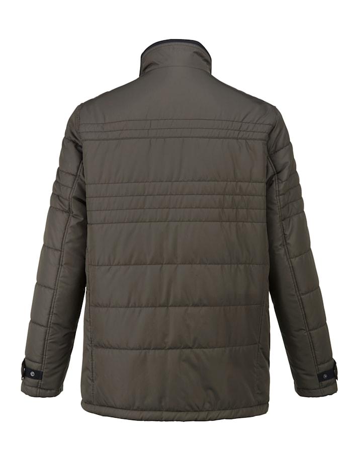 Gewatteerde jas in comfortabel model