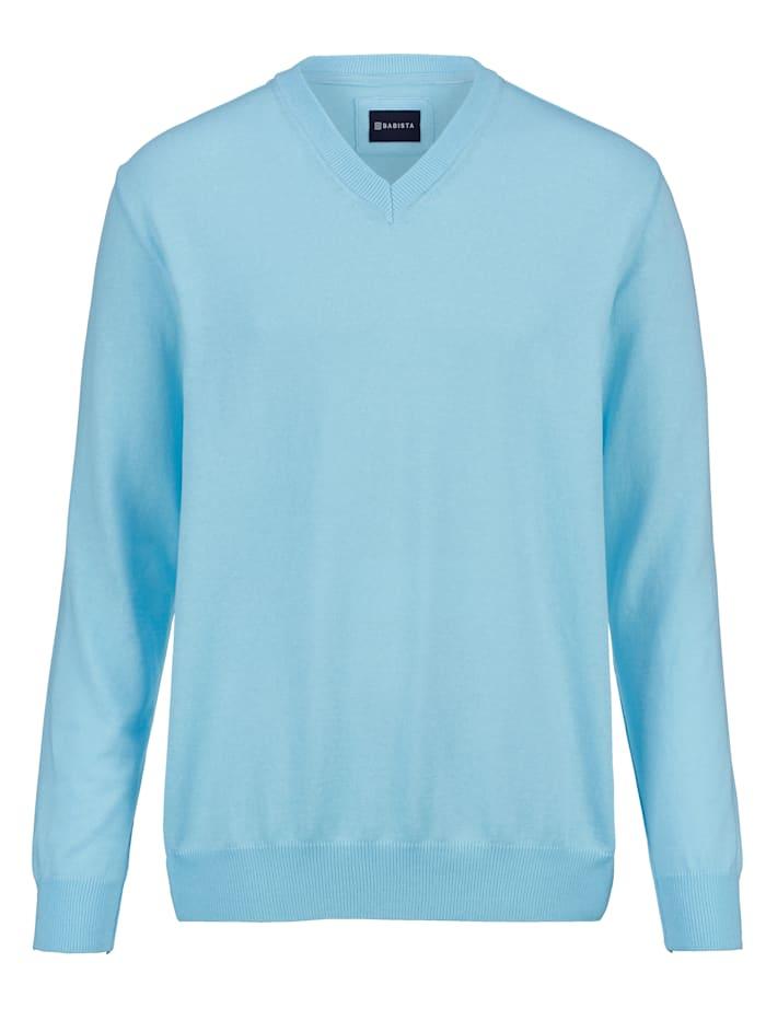 BABISTA Pullover in pflegeleichter Qualität, Hellblau