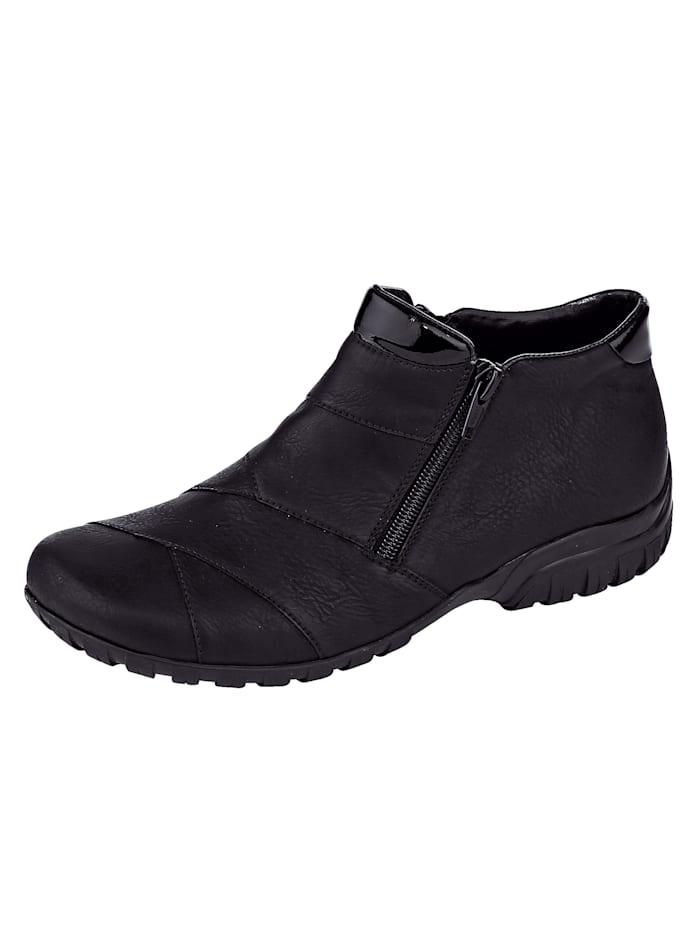 Rieker Ankle boots in a versatile design, Black