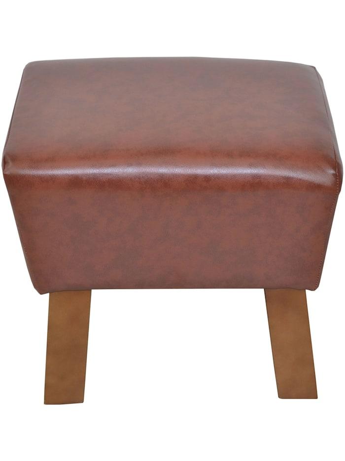Möbel-Direkt-Online Sitzhocker Remus, braun