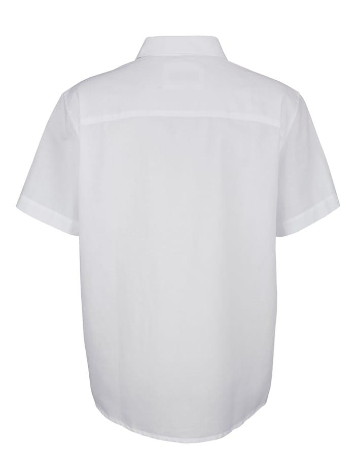 Hemd mit Leinenanteil