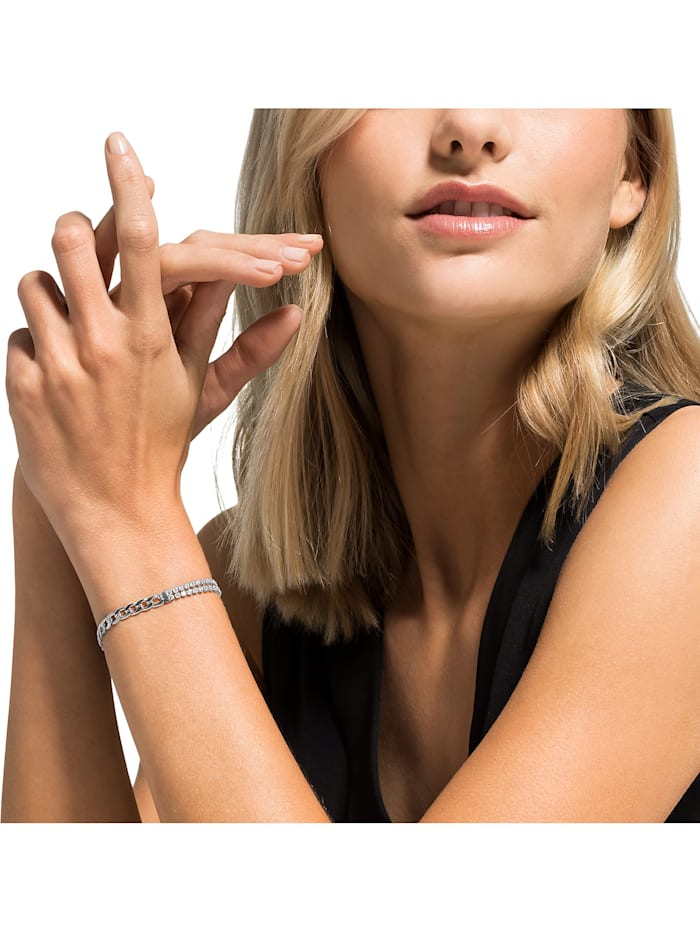FAVS Damen-Armband Edelstahl 62 Zirkonia