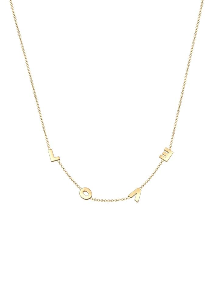 Halskette By @Lleennyyy Erbskette Love Wording 925 Silber