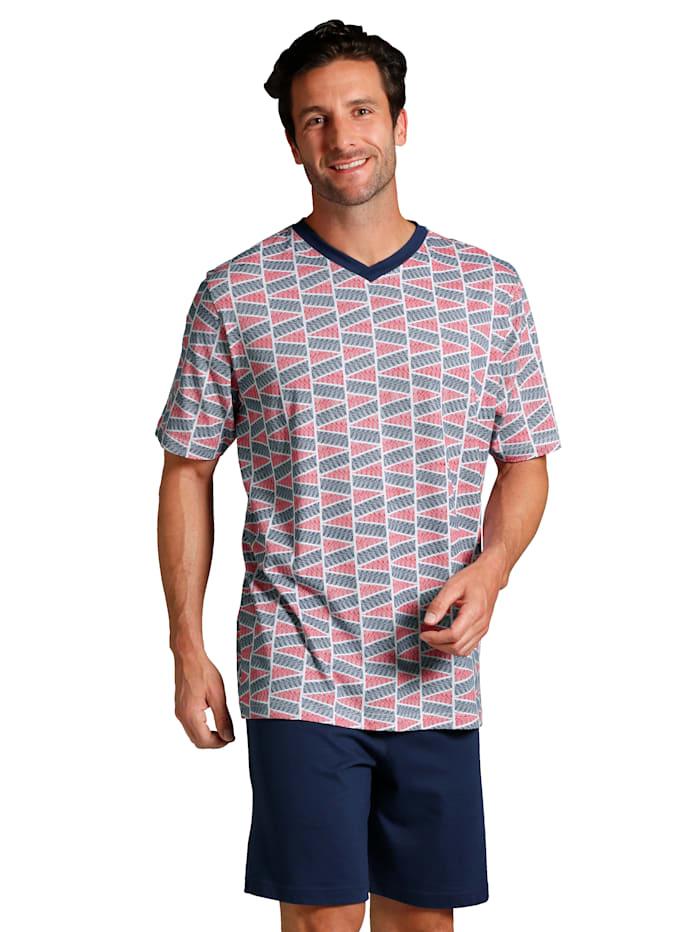 T-shirt + pantalon + short de pyjama