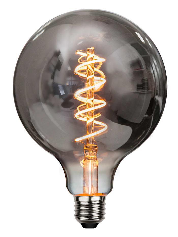 Star Deco LED, Rauchglas/grau