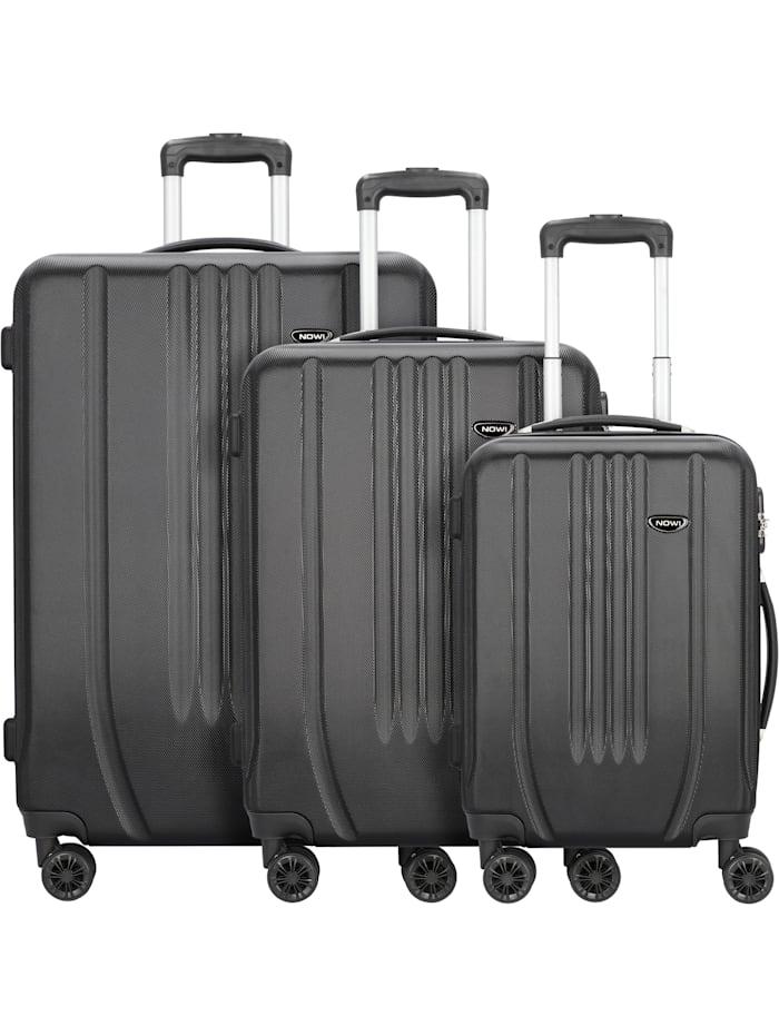 Hardshelled 3.0 4-Rollen Kofferset 3tlg. mit Doppelrollen 3-teilig