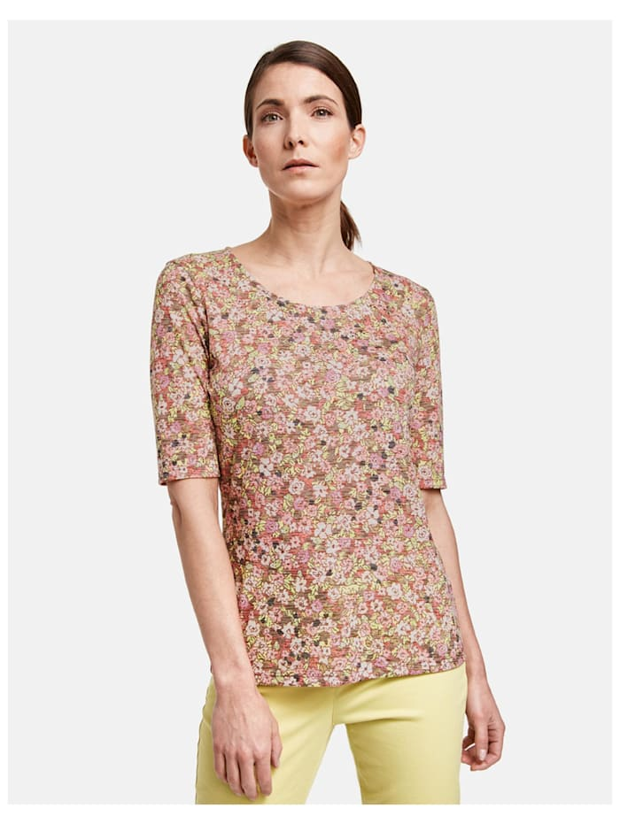 1/2 Arm Shirt mit Flowerprint