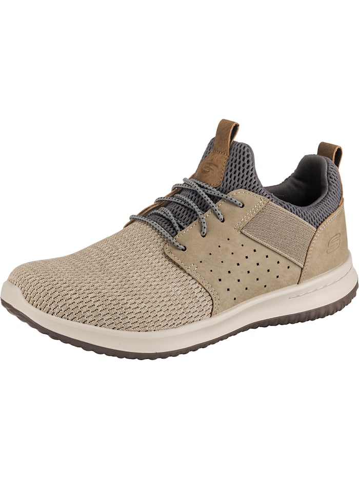 Skechers Delson Camben Sneakers Low, taupe