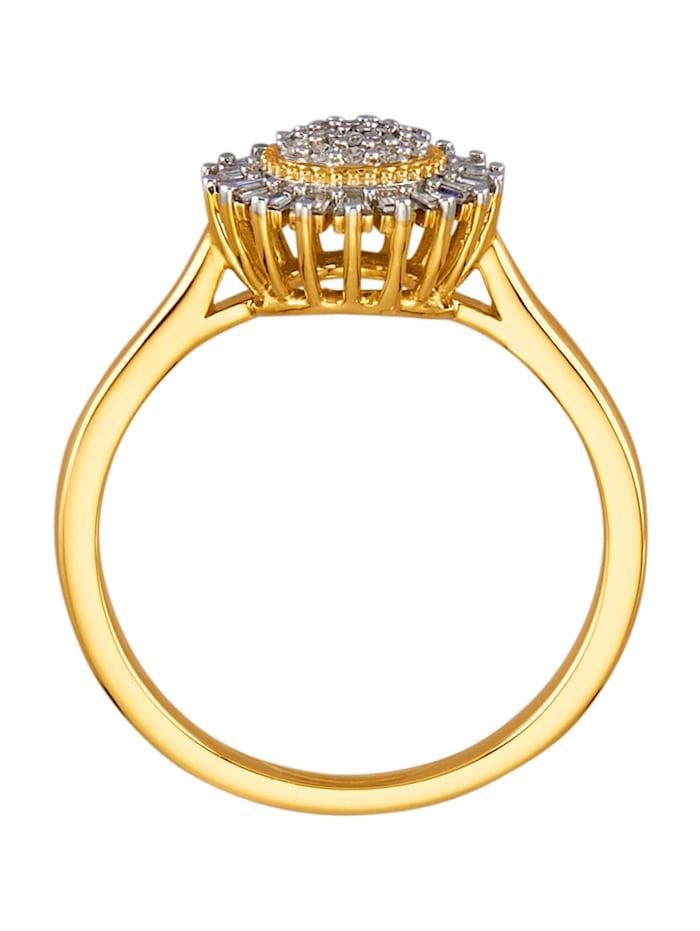 Damenring mit 37 Diamanten