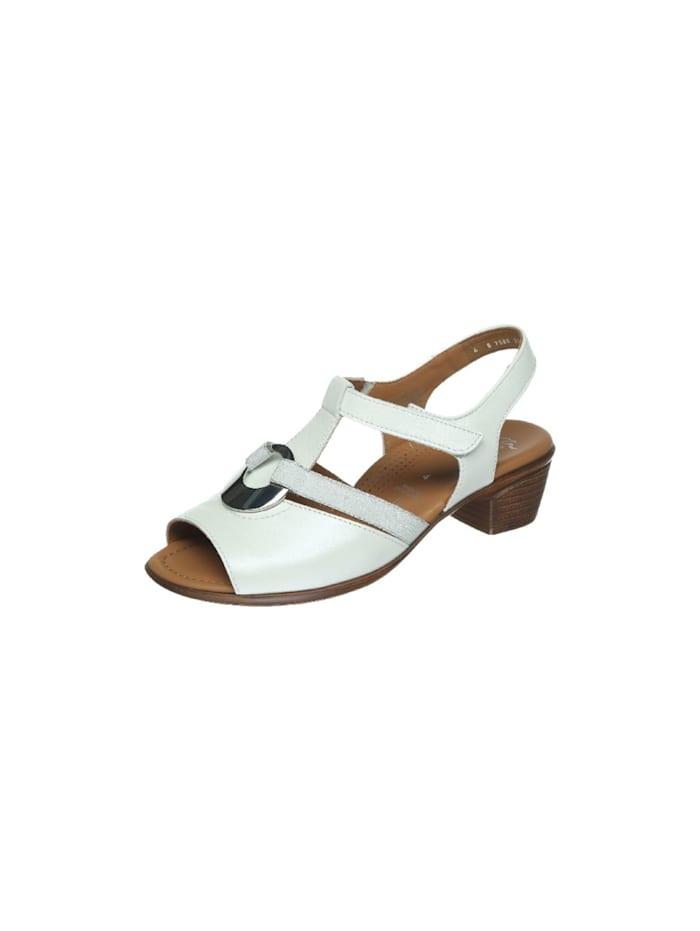 Ara Damen Sandale in weiß, weiß