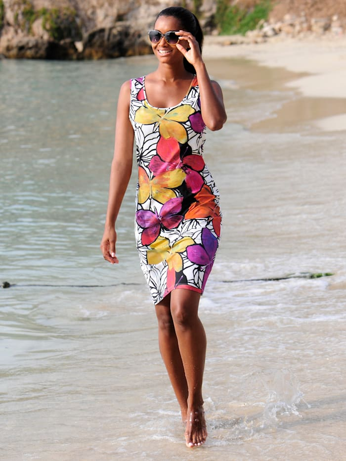 Strandkleid in Etuiform