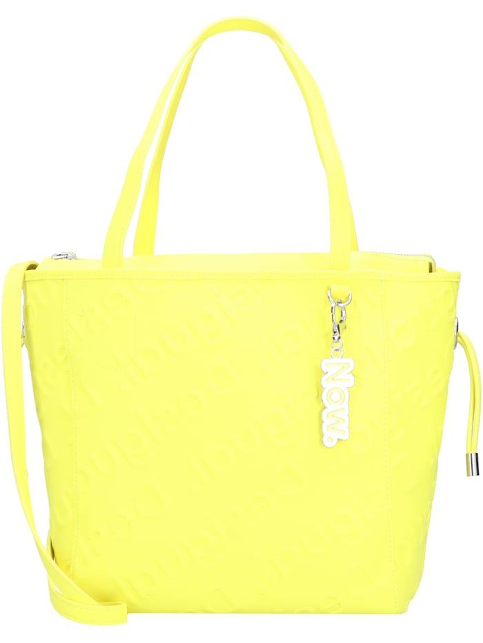 Desigual Colorama Norwich Shopper Tasche 26 cm, amarillo fluor