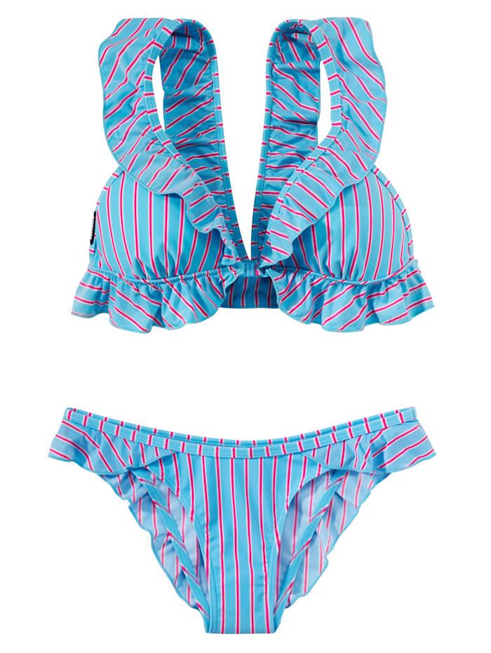 CHIEMSEE Bikini, Blau/Pink