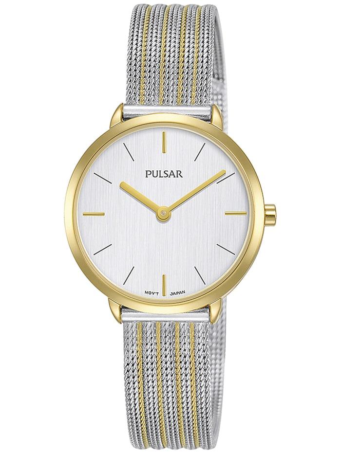 Pulsar Damen-Armbanduhr Attitude, Silberfarben