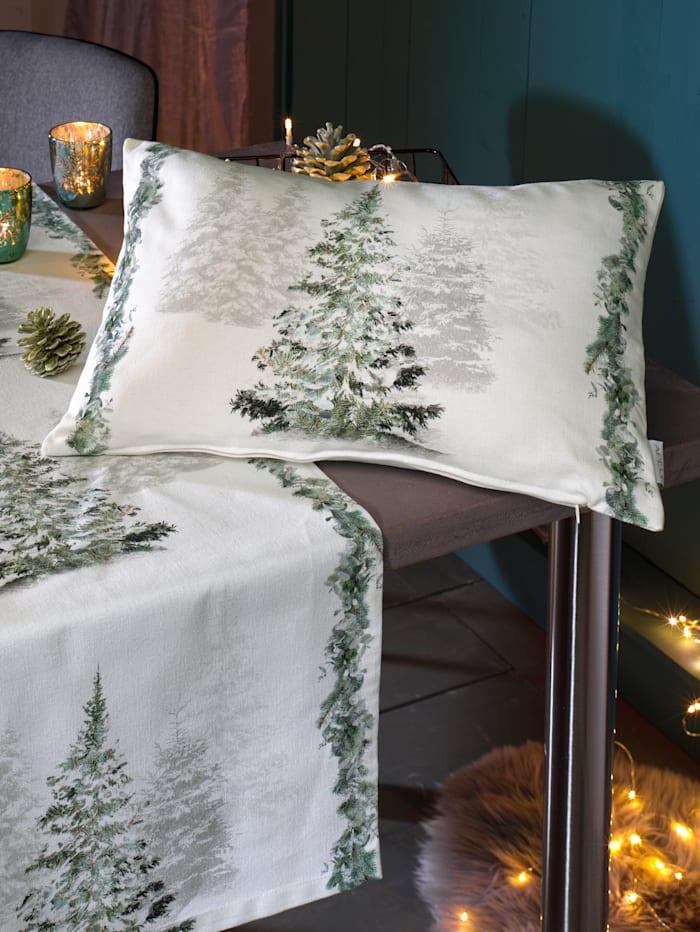 Apelt Kissen 'Tannenbaum', natur grün