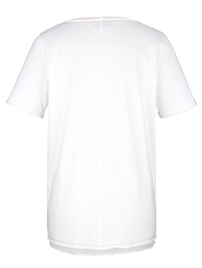 Shirt mit Hundedruck