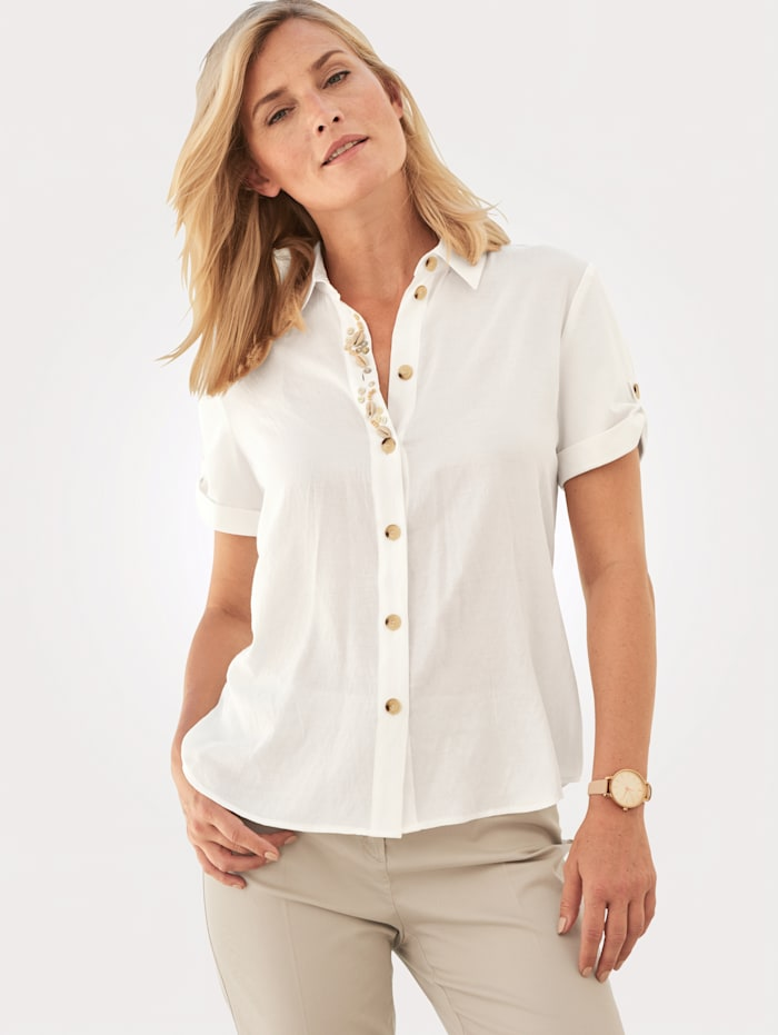 Blouse with embellishment