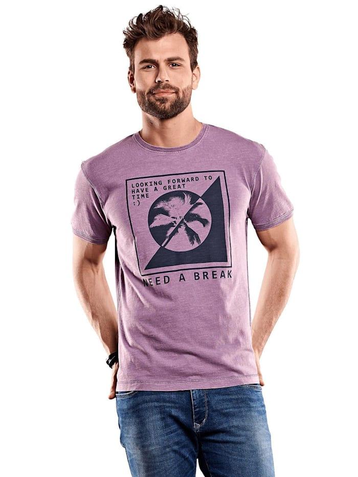 Engbers Rundhals T-Shirt, Flieder