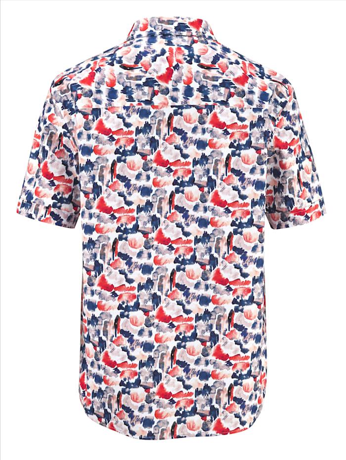 Overhemd met trendy patroon