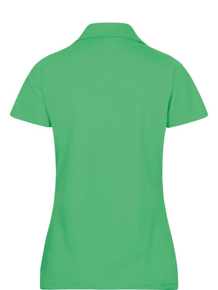 Damen Poloshirt ohne Knopfleiste