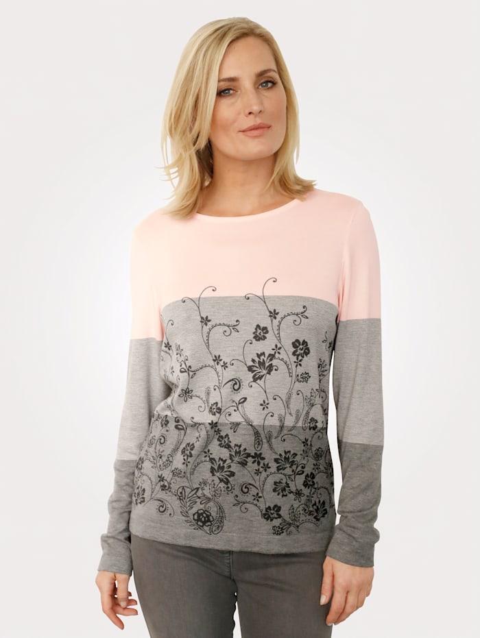 Pullover mit Blumendruck